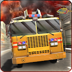 Fire Driver Truck City Rescue Apk