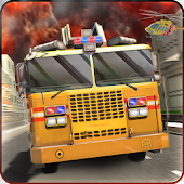 Fire Driver Truck City Rescue