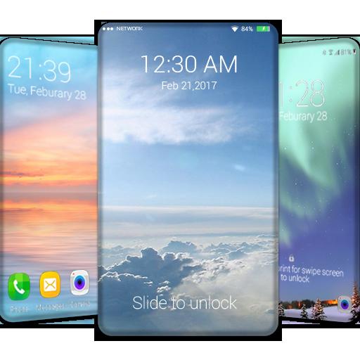 Sky wallpaper QHD,lock screen (app)