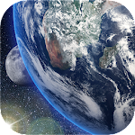 Earth & Moon Live Wallpaper for Free 2.3.4.2296