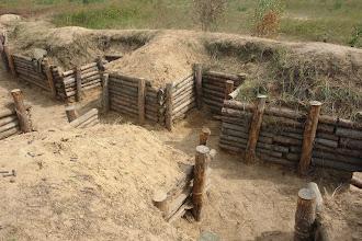 Photo: укрепления.окоп в полный профиль