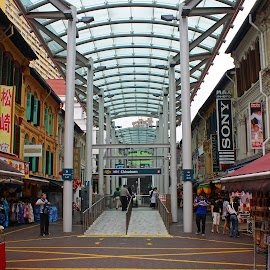 China Town Market by Mulawardi Sutanto - City,  Street & Park  Markets & Shops ( market, singapore, china town, travel, souvenir )