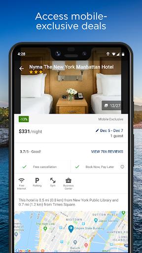 Travelocity Hotels & Flights  screenshots 2