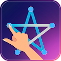 One Touch Connect dots - one stroke puzzle game icon