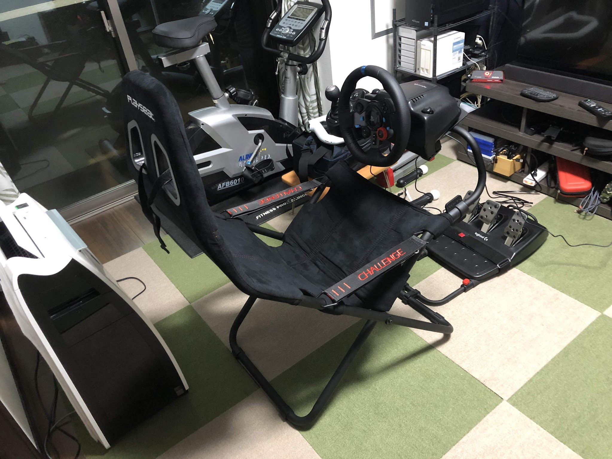 Logicool G29 Driving Force + Driving Force Shifter + Playseat Challenge を買った