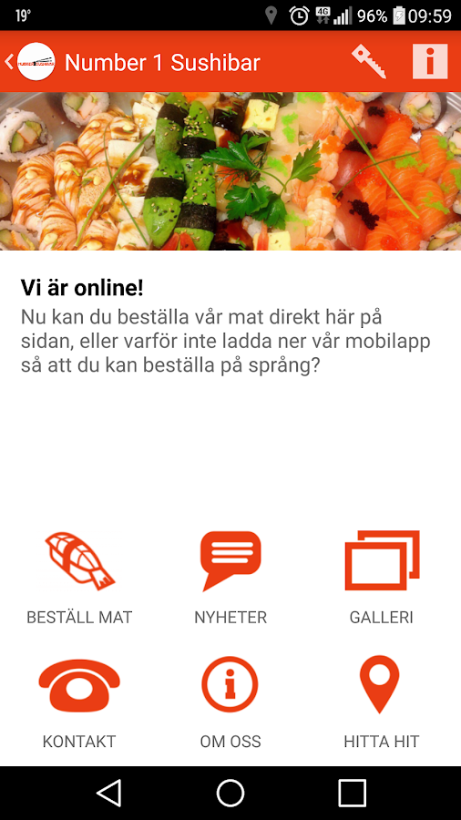 Number 1 Sushibar- screenshot