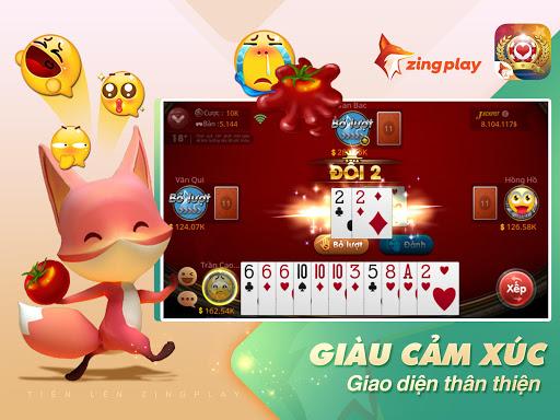 Tiu1ebfn lu00ean Miu1ec1n Nam - Tiu1ebfn Lu00ean - tien len - ZingPlay apktram screenshots 8