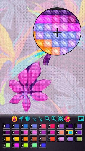 Cross Stitch Gold: Color by number, Sewing pattern 1.2.1.5 screenshots 3
