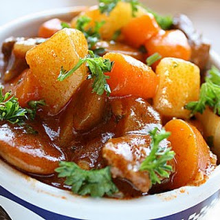 Mutton Stew With Vegetables Recipes.