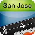 San Jose Airport + Radar SJC icon