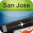 San Jose Airport + Radar SJC icon