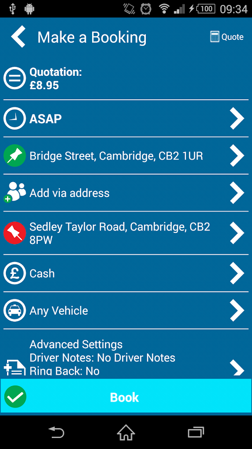 A1 Cabco Taxis- screenshot