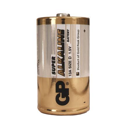 Batteri GP Alkaline D/LR20 2fp