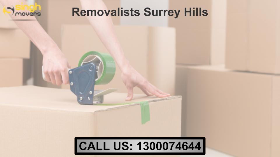 Removalists Surrey Hills