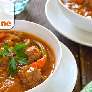 How to Make an Easy Paleo Italian Meatball Minestrone Soup