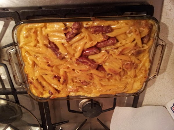 Creamy Cheesy Chipotle Pasta & Beef Smokies Recipe