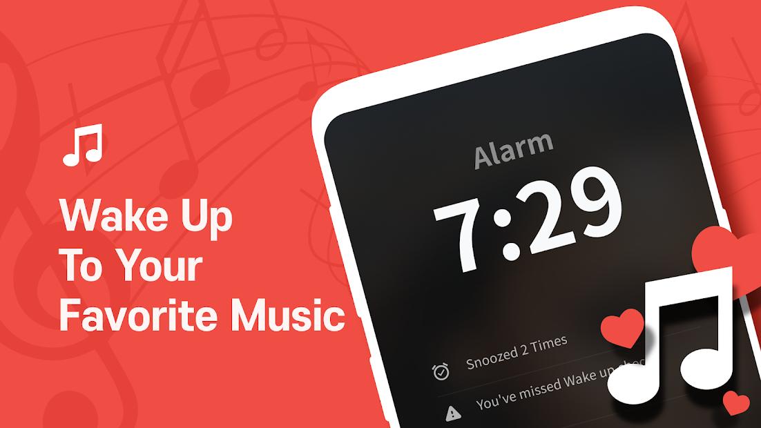 Alarm Clock: Wake Up Missions, Loud Alarm - Alarmy Android App Screenshot