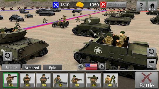 WW2 Battle Simulator MOD (Unlimited Money) 4