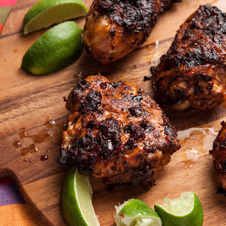 Adobo-Marinated BBQ Chicken