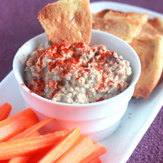 Roasted Eggplant Dip (Baba Ghanoush)
