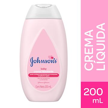 Crema líquida baby Johnsons  original 200 ml