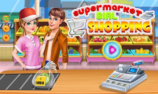 女孩購物超市遊戲