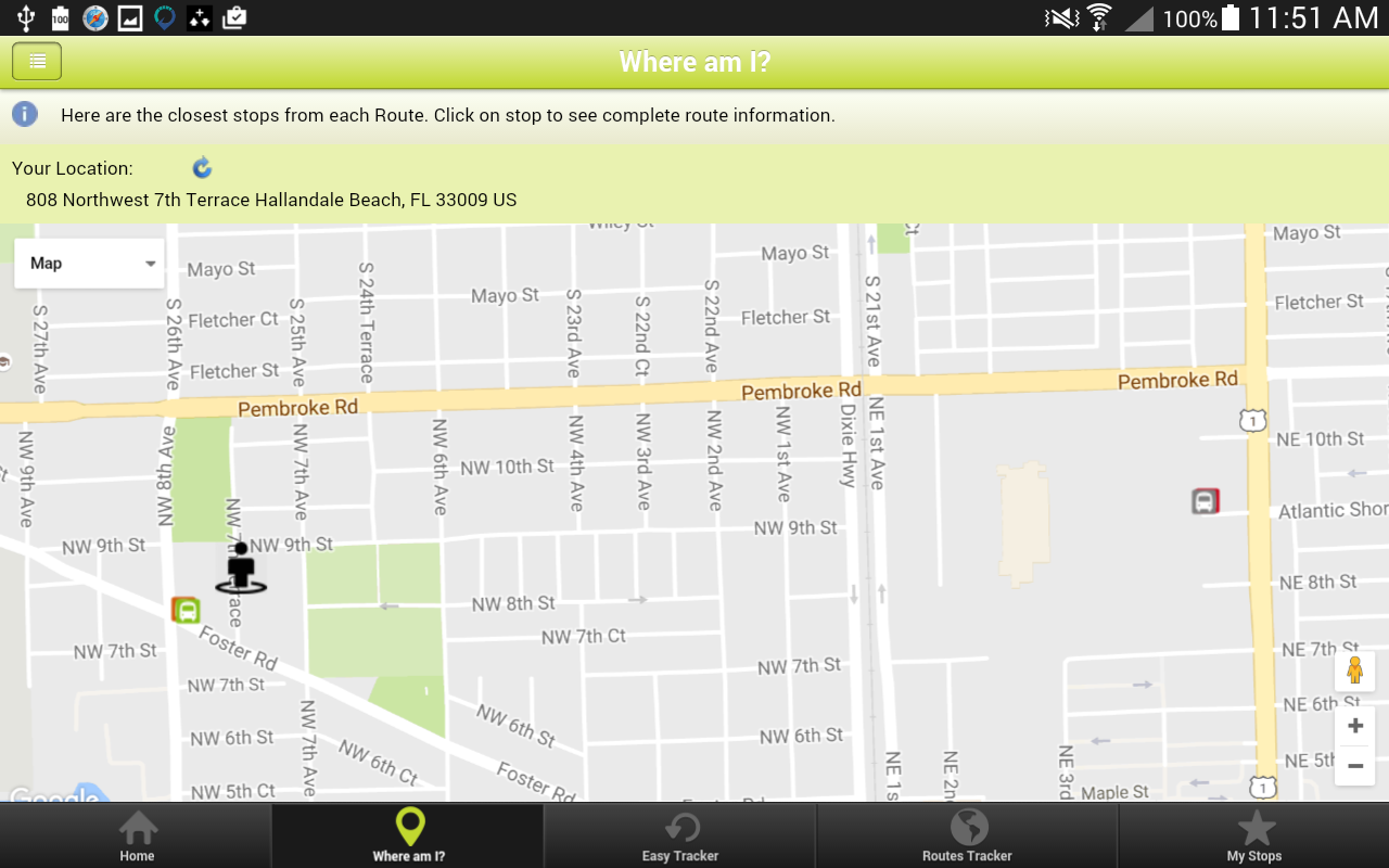 Hallandale Beach Minibus Android Apps On Google Play - Florida map hallandale