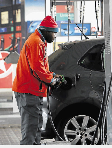 Fuel prices rose sharply in April. The steep hike forecast for May follows further rand weakness against the dollar and higher international oil prices. Picture: THE TIMES
