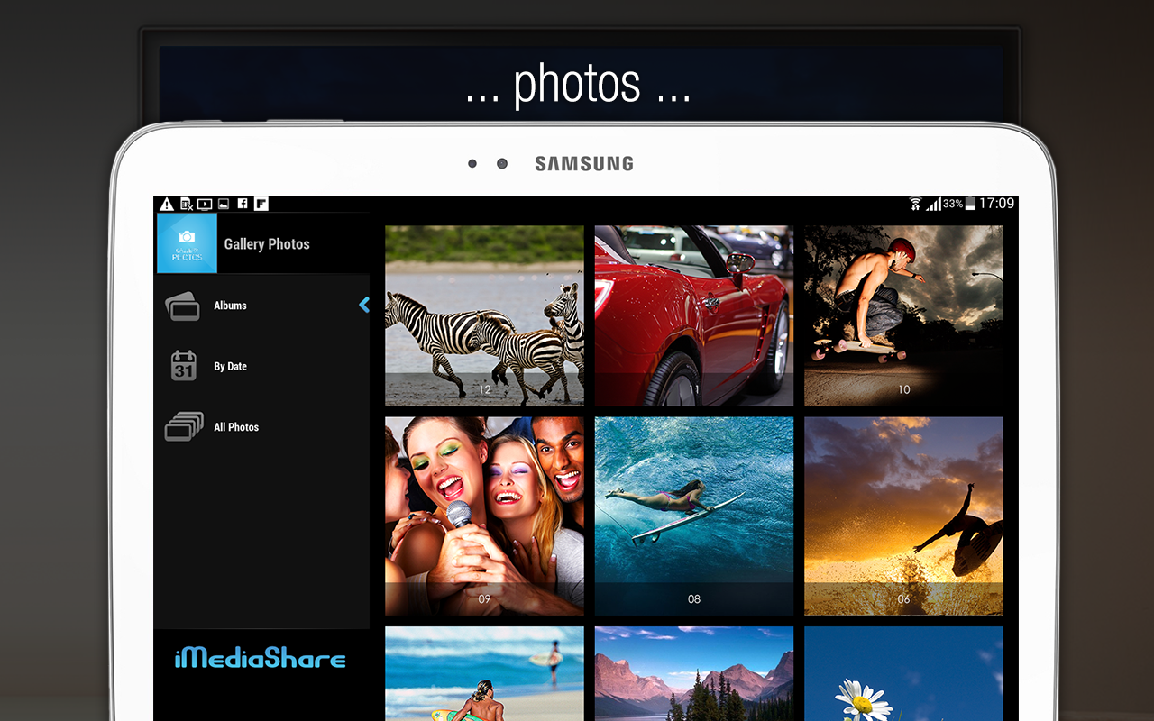 iMediaShare – Photos & Music- screenshot