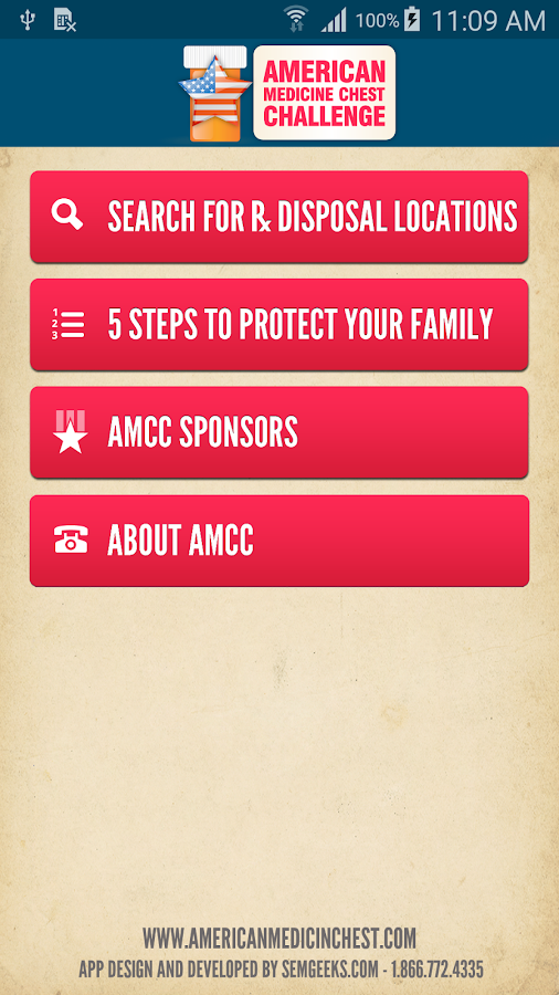 AMCC RxDrop- screenshot