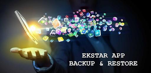 (APK) تحميل لالروبوت / PC Ekstar App Backup & Restore تطبيقات screenshot