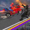 Superheroes Rampage Death War Tricky Bike Stunts APK