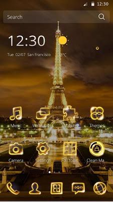 Golden Eiffel - screenshot