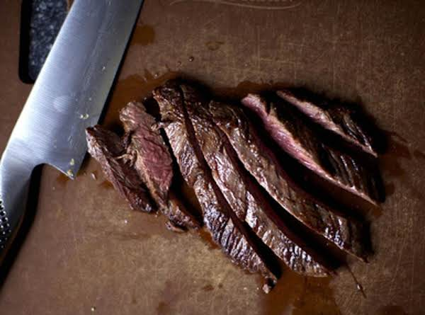 Sweet 'n' Tangy Flank Steak Recipe