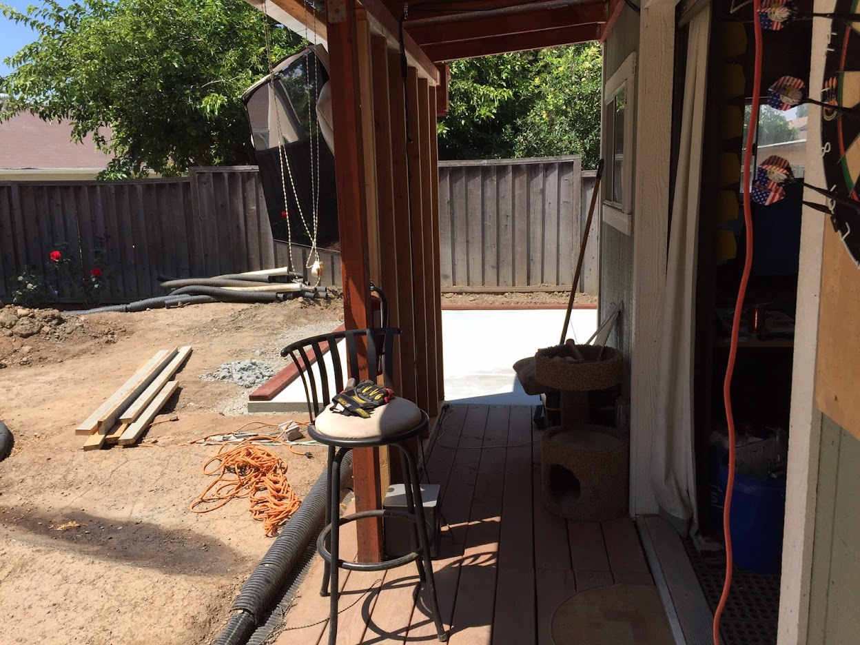 Building A 2nd Shed Adjacent To Existing Building Amp Construction