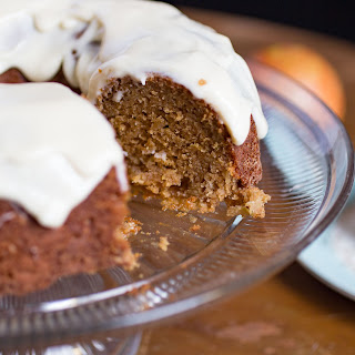 Spiced Apple Bundt Cake W/Maple Cream Cheese Frosting Recipe
