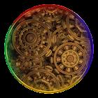 Golden Wheels Live Wallpaper icon