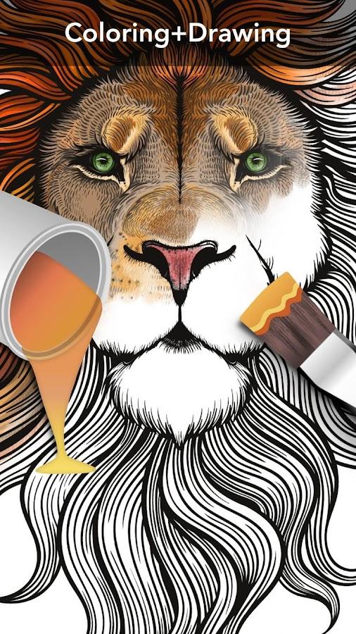 animal coloring book screenshot