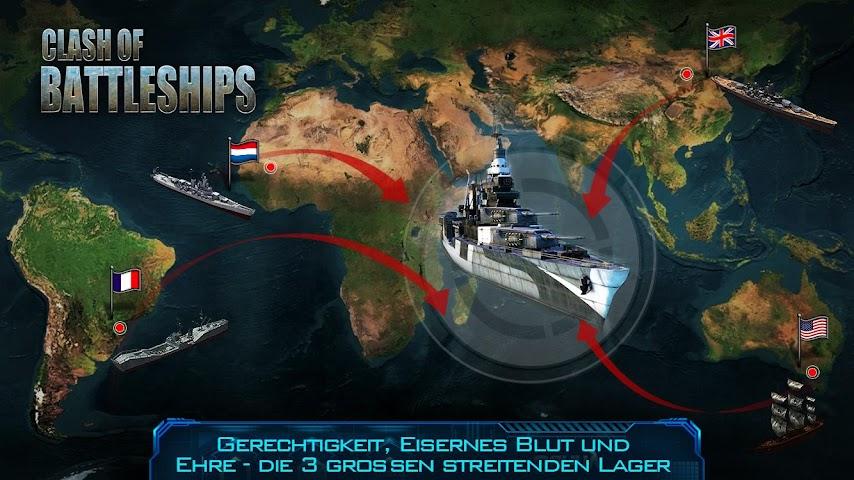 android Clash of Battleships Screenshot 2
