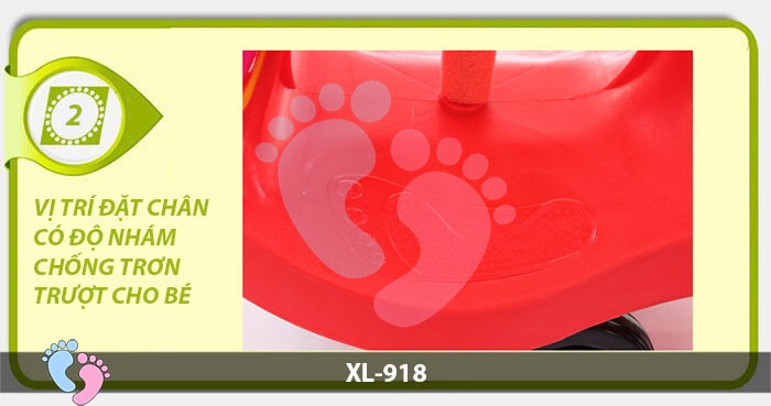 Xe lắc trẻ em Broller XL-918 13