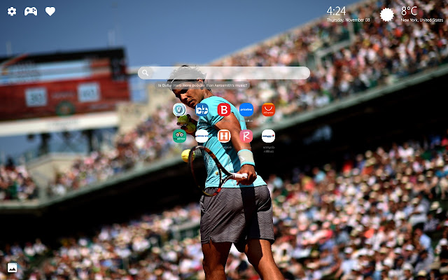 Rafael Nadal Wallpapers New Tab