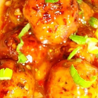 Vegetable Manchurian.