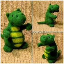 Photo: Это гибрид бегемотика и дракоши:))