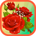 Bubble Shooter Roses icon
