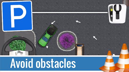 Parking Police Cars - náhled