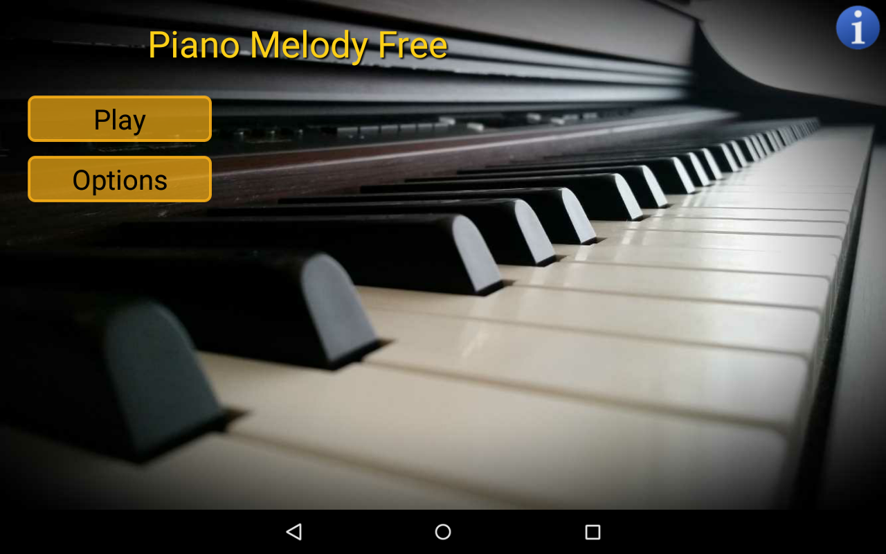 Piano Melody Free- screenshot