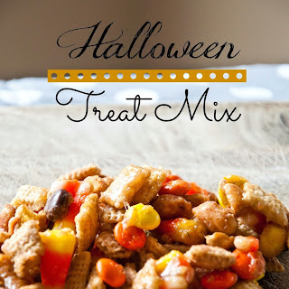 Halloween Treat Mix.