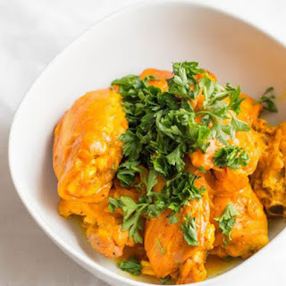 {Guest Post} Saffron Chicken with Orange Reduction (gluten, grain, and dairy free, autoimmune paleo)