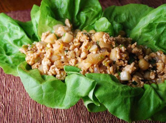 Wu's Pork In Lettuce Recipe