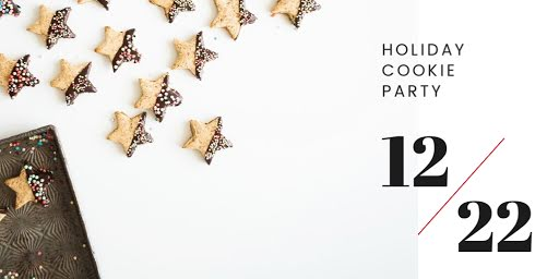 Holiday Cookie Party - Christmas Template
